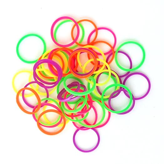 Neon Glow elastiekjes van Rainbow Loom kopen in onze Loommania.nl webwinkel