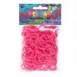 Neon pink Rainbow Loom elastiekjes loom ook voor Band-it en Funloom kopen in online webshoe