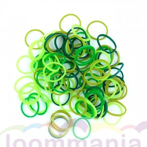 Rainbow Loom elastiekjes opaque lente mix koop je online in de Loommania.nl webshop