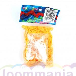 Rainbow Loom elastiekjes opaque mango koop je online in de Loommania.nl webshop
