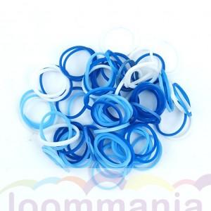 Rainbow Loom elastiekjes opaque oceaan mix koop je online in de Loommania.nl webshop