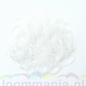 Transparante Rainbow Loom elastiekjes voor de loomkit in onze webshop online te koop. Ook voor Band-it en funloom geschikt.