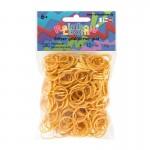 Glitter goud elastiekjes loombands rainbow loom bandit funloom webshop kopen online goedkoop