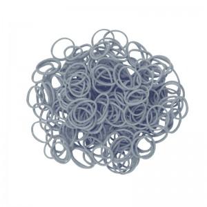 Metallic zilver elastiekjes loombands rainbow loom bandit funloom webshop kopen online goedkoop