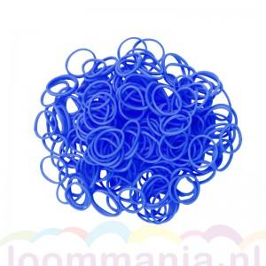 Rainbow loom elastiekjes blauw opaque kopen via online webshop. Ook geschikt voor Bandit en funloom.