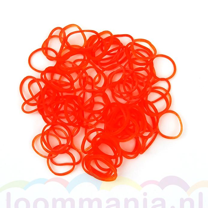 oranje jelly elastiekjes kopen in onze online Rainbow Loom webshop loombandjes, band-it fnloom