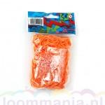 Oranje neon elastiekjes van Rainbow Loom® kopen in onze online webshop goedkoop