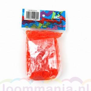 Oranje jelly elastiekjes van Rainbow Loom® kopen in onze online webshop goedkoop