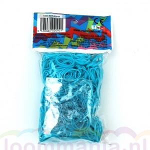turquoise elastiekjes Rainbow loom, webshop online kopen goedkoop