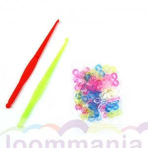 s-clips mix colors kleuren kopen online in de rainbow loom webshop loommania.nl