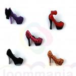 hoge hakken charms Rainbow Loom koop je bij Loommania.nl webshop online