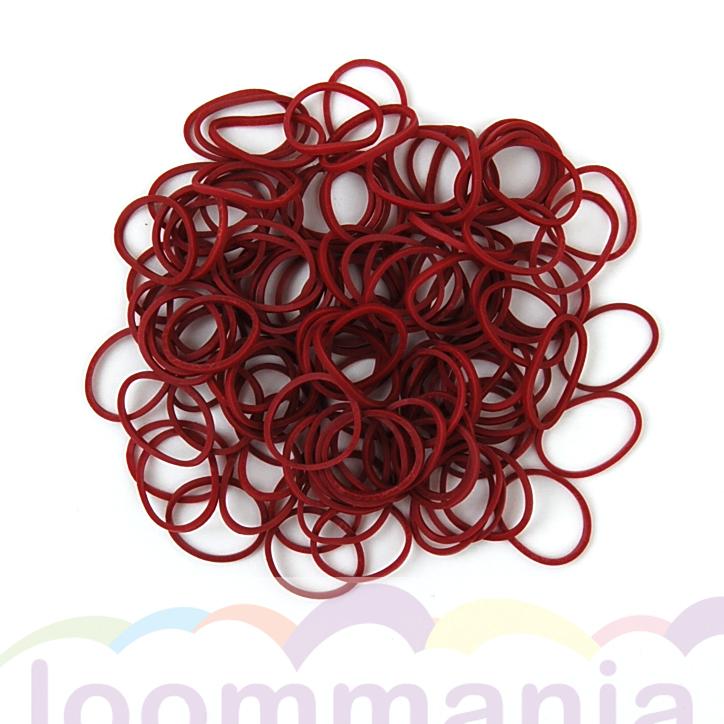 burgundy elastiekjes rainbow lomo webshop online kopen bij Loommania