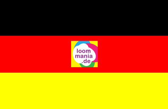 Rainbow Loom gummibander kauft man in Deutschland bei Loommania.de