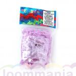 Rainbow Loom glow paarse elastiekjes online kopen bij Loommania webshop