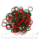 Kerst mix Rainbow Loom elastiekjes kopen bij Loommania webshop