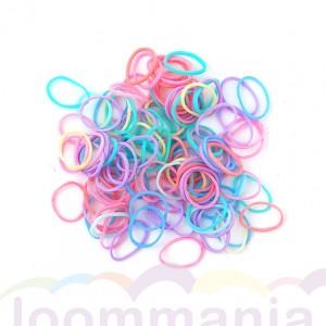 Pastel mix Rainbow Loom elastiekjes kopen bij Loommania webshop