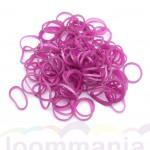 Rainbow Loom elastiekjes medieval pink roze kun je online kopen bij Loommania in onze webshop