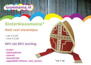 Sinterklaas aanbieding Rainbow Loom korting goedkoop