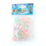 Pastel glow mix elastiekjes van Rainbow Loom koop je online bij Loommania.nl webshop