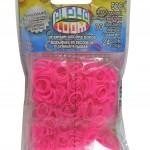 Alphaloom roze elastiekjes rainbow loom loommania webshop online