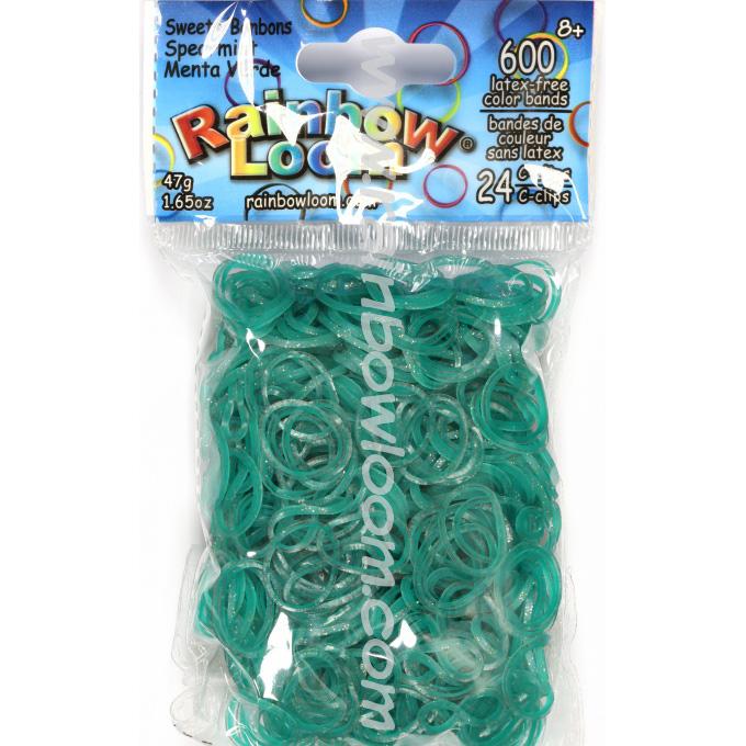 Rainbow Loom elastiekjes spearmint online kopen bij de loommania.nl webshop