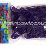 Rainbow loom paarse elastiekjes webshop kopen online loommania.nl
